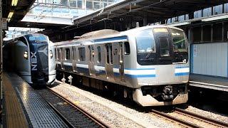 2020/08/13 横須賀線 E217系 Y-38編成 品川駅 | JR East Yokosuka Line: E217 Series Y-38 Set at Shinagawa