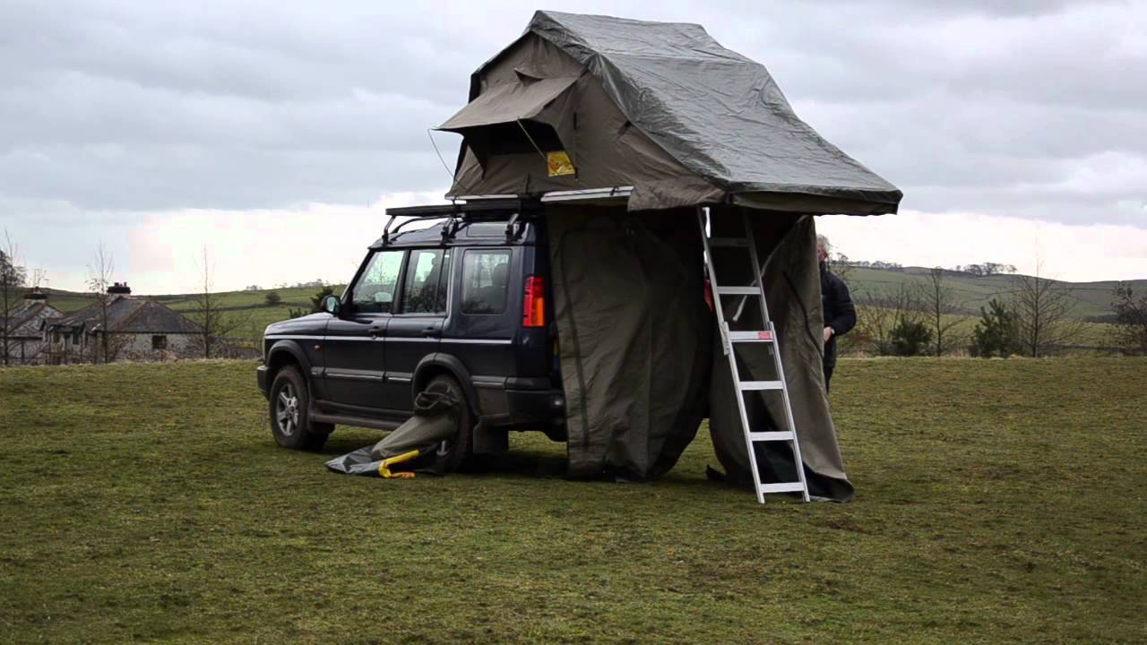 & APB Trading Ltd - Eezi-Awn 1.4 T-Top Roof Tent - YouTube
