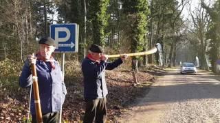 Midwinterhoornblazers in Dalfsen