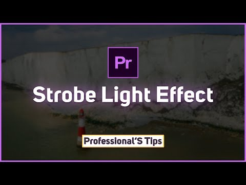 How To Create Strobe Light Effect In Adobe Premiere Pro cc   Video Editing Tutorial 2018