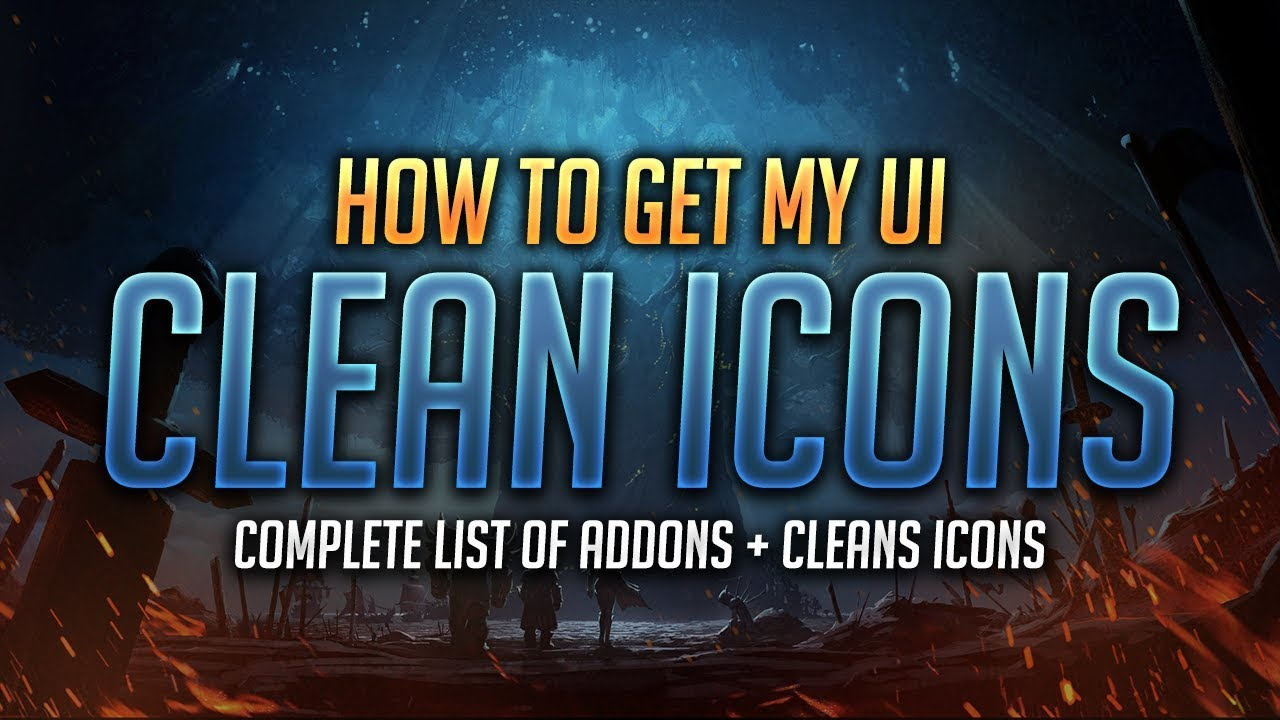 Minimalistic UI Guide with Clean Icons & Complete List of Addons