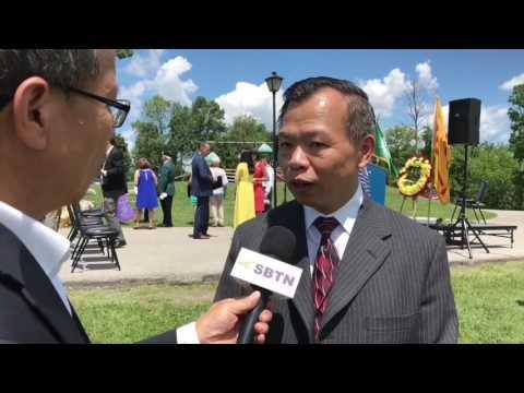SBTN-DC News: Buổi Lễ Đặt Viên Đá Đầu Tiên Xây Dựng Đài Tri Ân Chiến Sĩ Việt Mỹ