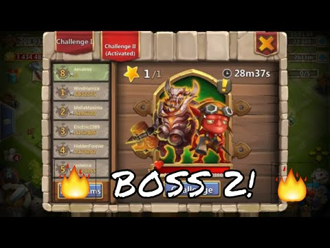 Castle Clash Boss II ! Strategy And Tips!