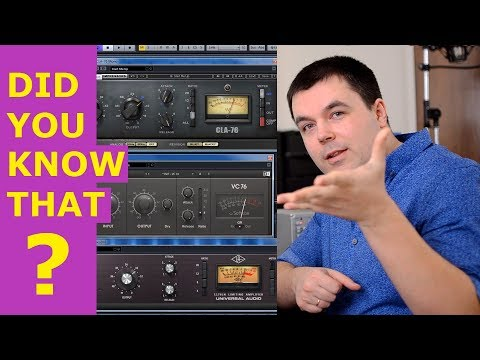 How to Use a Compressor - Learn New Things on 1176, SSL, VU Meter