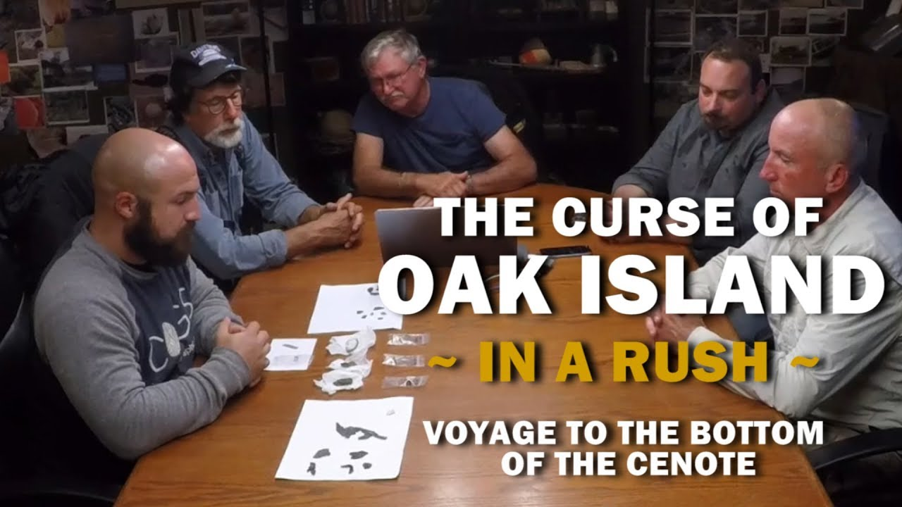The Curse of Oak Island (In a Rush) | Season 6, Episode 14 | Voyage to the  Bottom of the Cenote