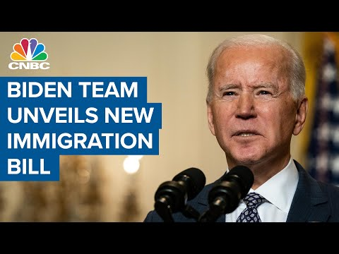 Joe Biden's team unveils sweeping immigration reform bill, including 8-year path to citizenship