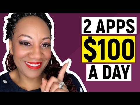 Make Money With Apps 2019 - Earn $100 Dollars A Day With These 2 Money Apps! (Paypal Proof Shown!)