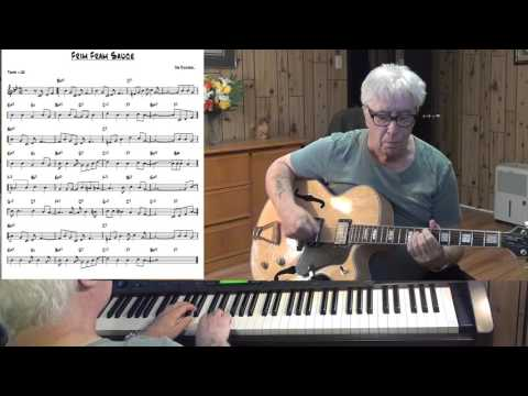 Frim Fram Sauce - Jazz guitar & piano cover - Yvan Jacques