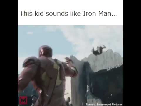 This kids sound like iron man ll by appsdaily ll