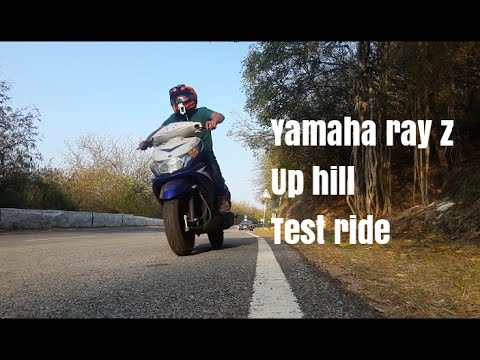 Yamaha ray z up hill test ride 🚵