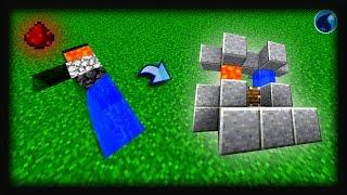 Minecraft redstone: Cách làm máy farm đá cải tiến