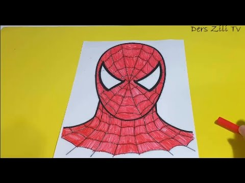 örümcek Adam Boyama Spider Man Coloring Pages For Kids Youtube