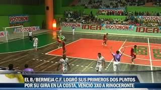 Rinocerontes 0 Barrancabermeja CF 3 copa postobon de microfútbol