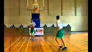 Уроки баскетбола. Броски в движении