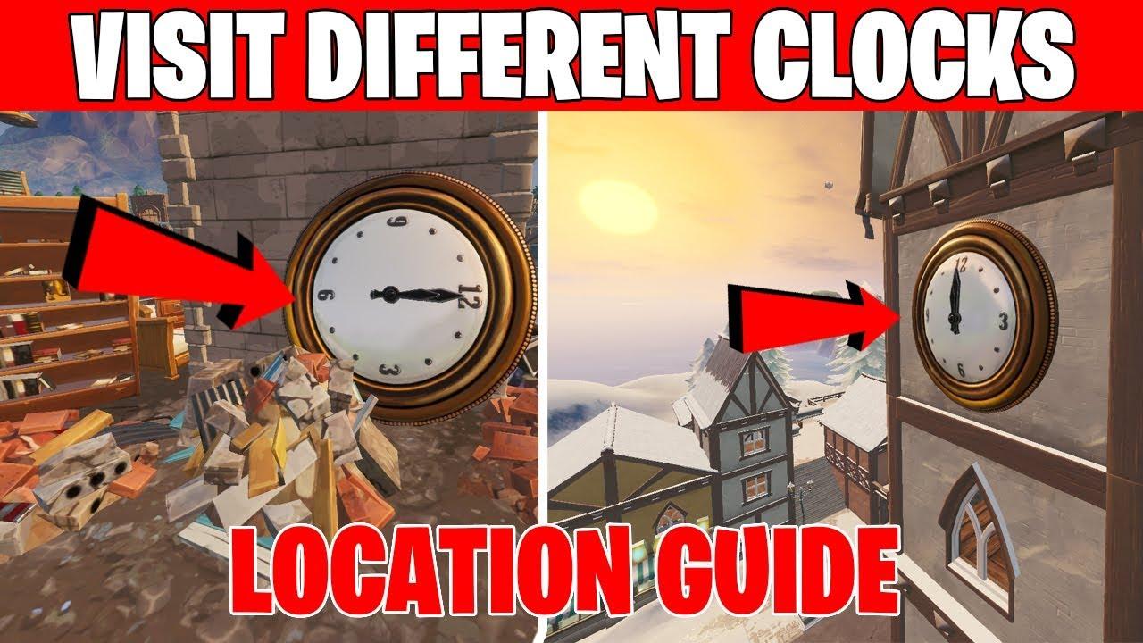 Visit Different Clocks - SEASON 9 Week 8 Challenges ...