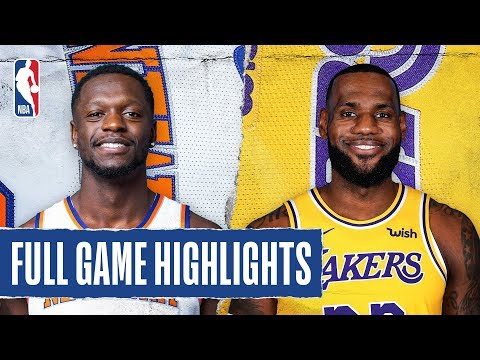 KNICKS at LAKERS | FULL GAME HIGHLIGHTS | January 7, 2020
