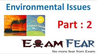 Biology Environmental Issues part 2 (Air pollution causes & effect) class 12 XII