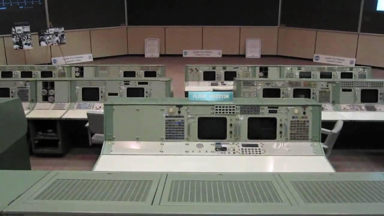 NASA Apollo Mission Control Room - YouTube