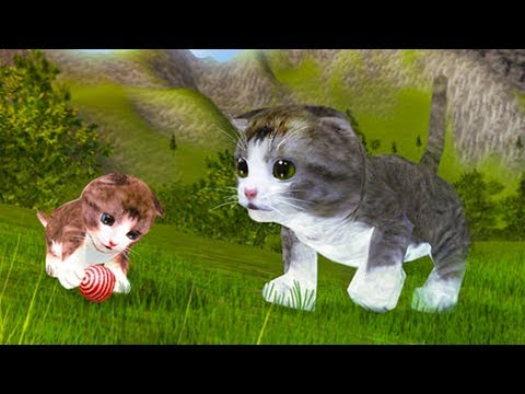 СИМУЛЯТОР Маленького КОТЕНКА #8 Беременная кошка родила котика развлекательное видео для детей #КИД