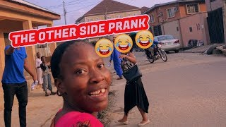MESSAGE FROM THE OTHER SIDE ! AFRICAN PRANK (Zfancy)