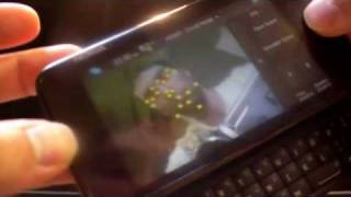 Real-time face tracking on the Nokia N900 mobile phone