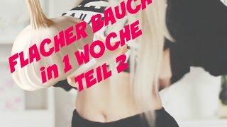 FLACHER BAUCH IN 1 WOCHE