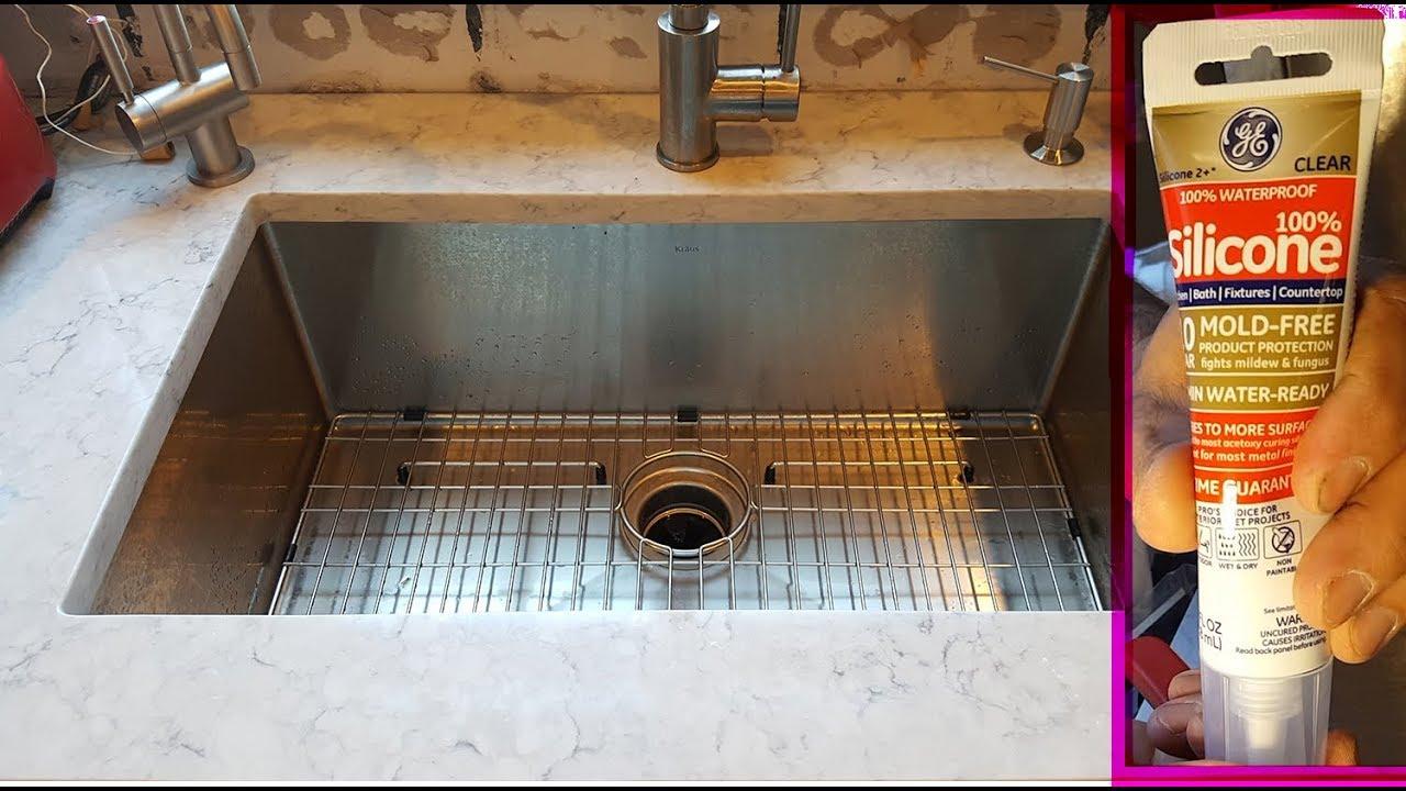 Best Way To Silicone New Undermount Sink Лучший способ