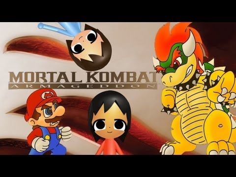 ABM: Mario vs Bowser on Mortal Kombat Armageddon HD