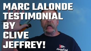 🎥 Marc Lalonde (The Wealthy Trainer) Testimonial by Clive Jeffrey!