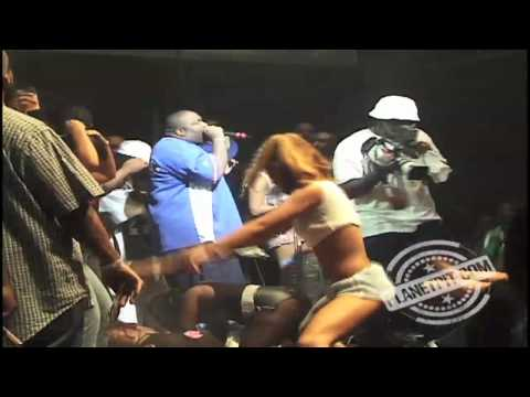 Throwback!! 2002-Rick Ross & Trina performing @ Billboard Live-Miami, FL