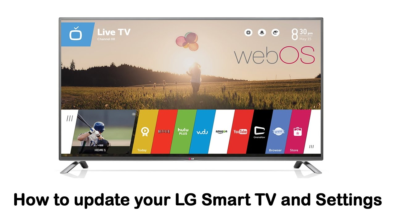 0d25f6169e8ad LG Smart TV - How to update your LG Smart TV and Settings - YouTube