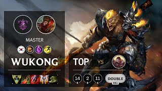 Wukong Top vs Jayce - KR Master Patch 10.21