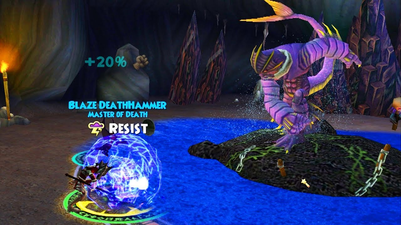 Wizard101 This Quest Was Harder Than I Thought Wintertusk Death