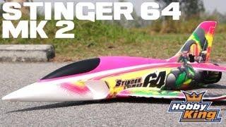 Stinger 64 V2 4s Edf Sport Jet 700mm Epo (Pnf)