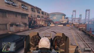 GTA 5 GUNRUNNING DLC Mobile Operation 2 (Halbketten-Tyrann)