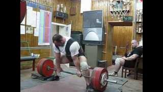 Andrew Malanichew  DL  from 7cm. 380-400-420kg