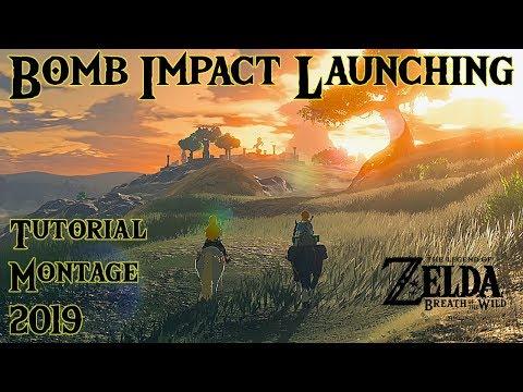 BOTW Bomb Impact Launching Tutorial/Clip Montage (2019) thumbnail