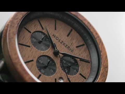 Holzkern - Die Armbanduhren aus Holz und Stein 4