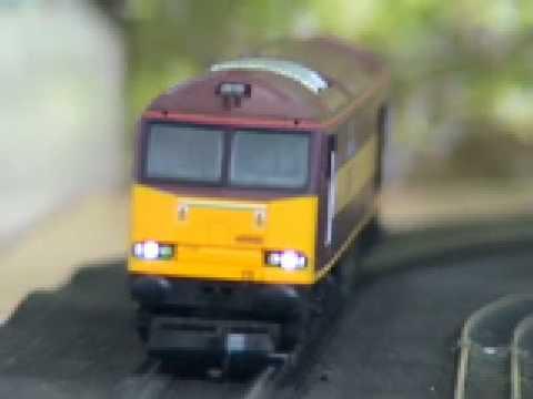 "Lima 00 gauge Class 60 001 ""The Railway Observer""  EWS"