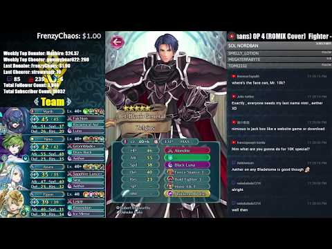 【Fire Emblem Heroes】 Unlocking Corrin then Playing Jackbox! Come Chat and Chill! :D