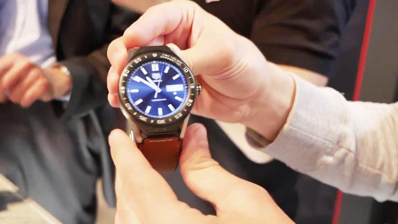 Обзор умных часов Tag Heuer за 1 млн. 152 тыс. рублей