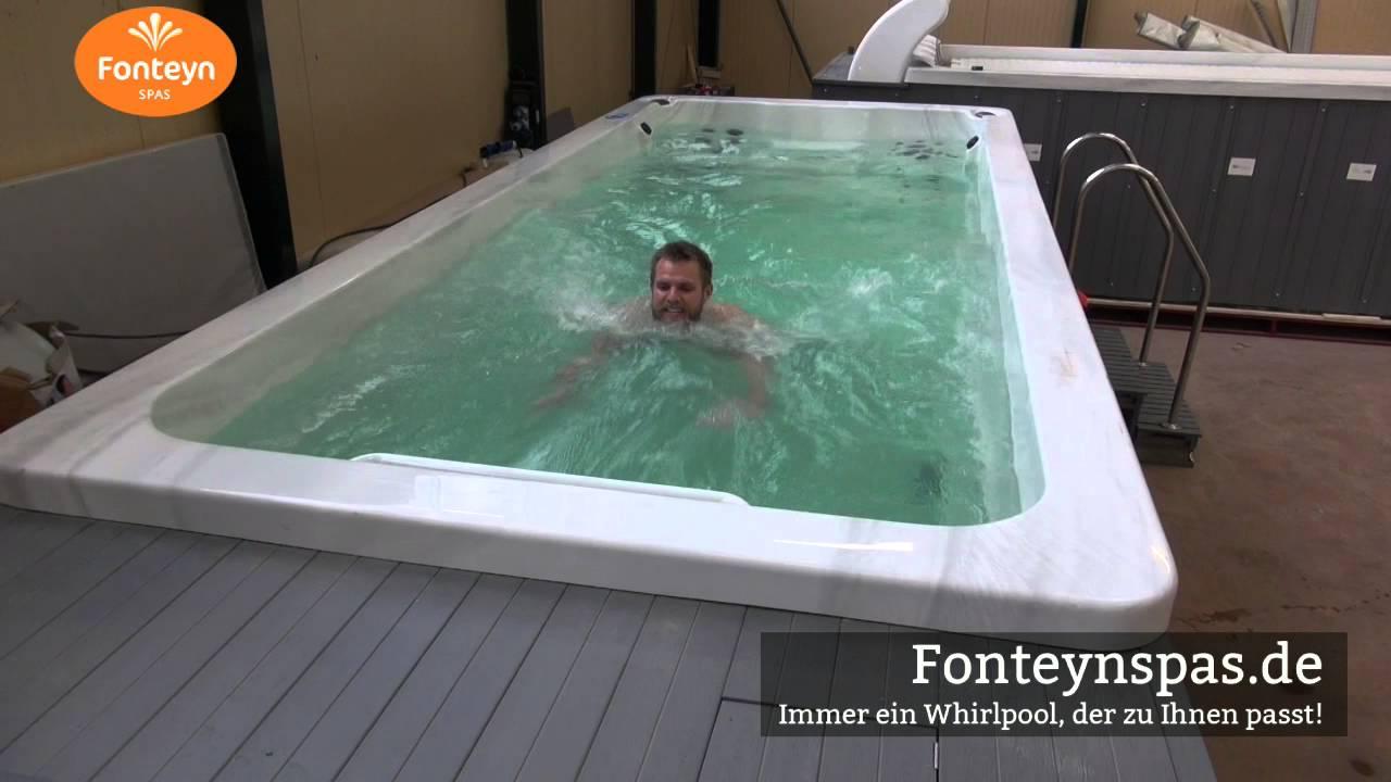 Schwimmspa mit Gegenstromanlage | Fonteynspas.de | Preis Angebote ...