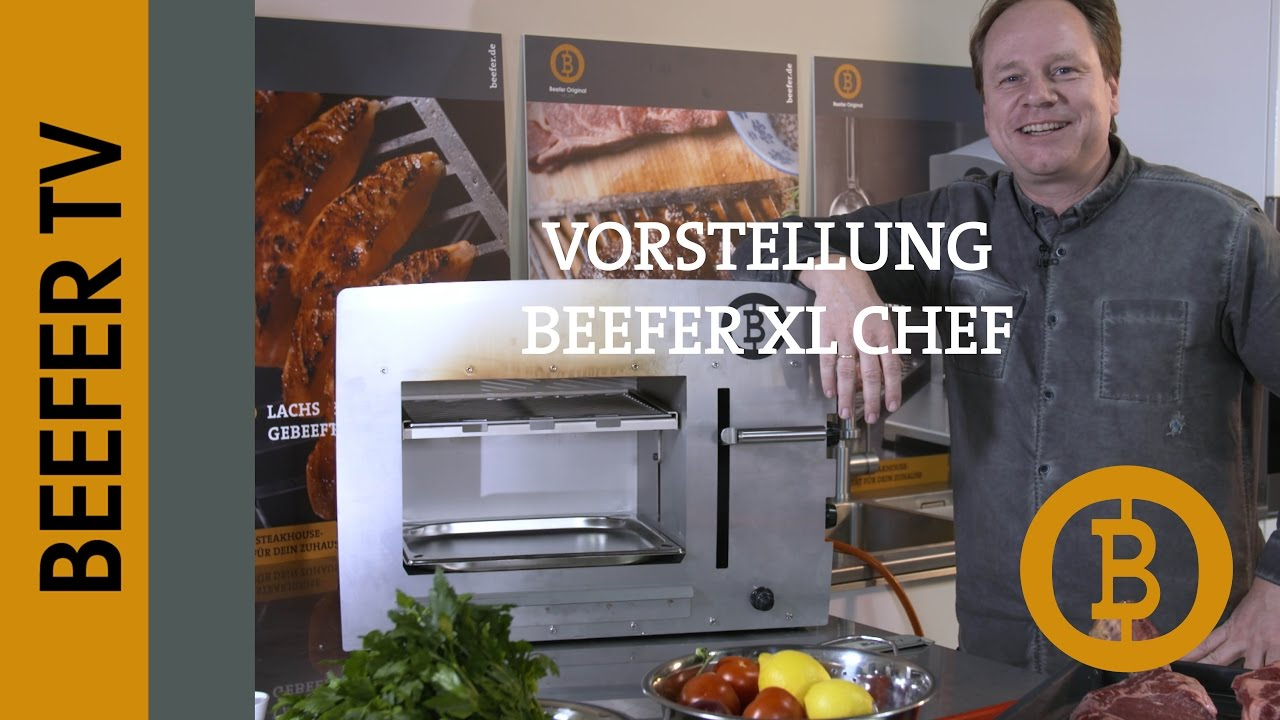 Beefer Kaufen München Beefer Xl Chef Out Indoor Profi Gasgrill