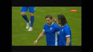 Футбол Международный турнир Кубок Легенд 2018 Россия Италия