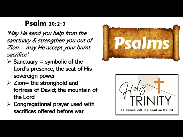Bible Study on the Book of Psalms: Songs of the Heart: session 5