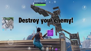 HOW TO WIN EVERY BUILD BATTLE in Fortnite mobile! Building tips and tricks