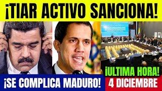 VENEZUELA HOY 4 DICIEMBRE TIAR Activa Sanciones contra Maduro Ultimas Noticias de Venezuela