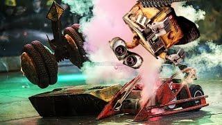 Бои роботов в Олимпийском - Бой 3 - Англия против России(В этом ролике вы увидите еще один бой роботов, который состоялся в рамках шоу #Бронебот 2016. В этой битве встр..., 2016-05-20T11:38:28.000Z)