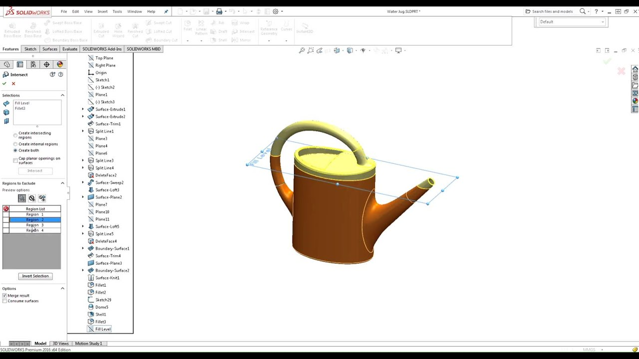 How to find a volume of a hollow part in solidworks youtube ccuart Image collections