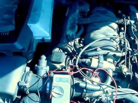 How to check your crankshaft position sensor on a BMW 740 (e38